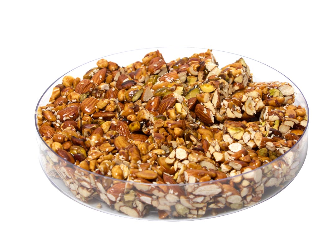 Peanut Candy with Pistachios